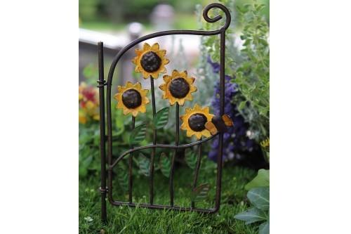 Sunflower Gate - MyFairyGardens.com