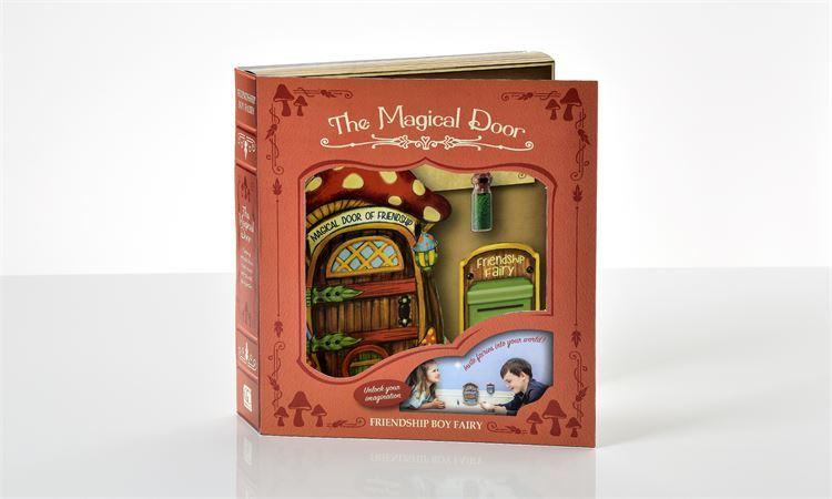 The Magical Door - Friendship Mushroom 3PC. Gift Boxed Set - MyFairyGardens.com