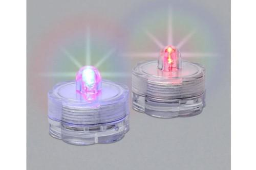 Water LED Color Changing Tea Lights Set of 2 - MyFairyGardens.com