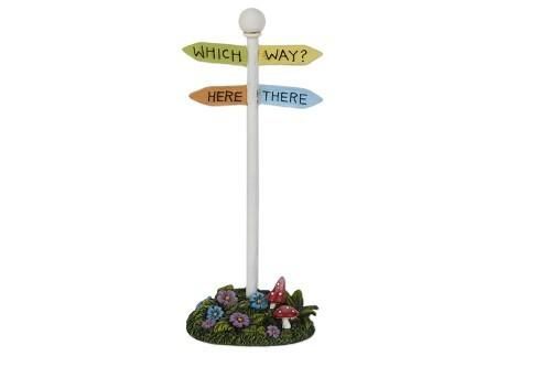 Which Way Sign - MyFairyGardens.com
