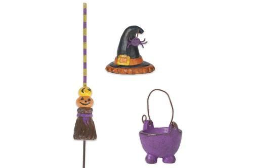 Witch Accessories Set of 3 - MyFairyGardens.com