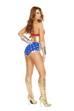 Womens Sexy Hero Costume Roma 4679 Back
