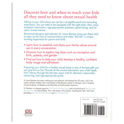 Talking To Your Kids About Sex Dr. Laura Berman pages