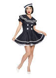 Sexy Pin Up Captain Costume Roma 4094