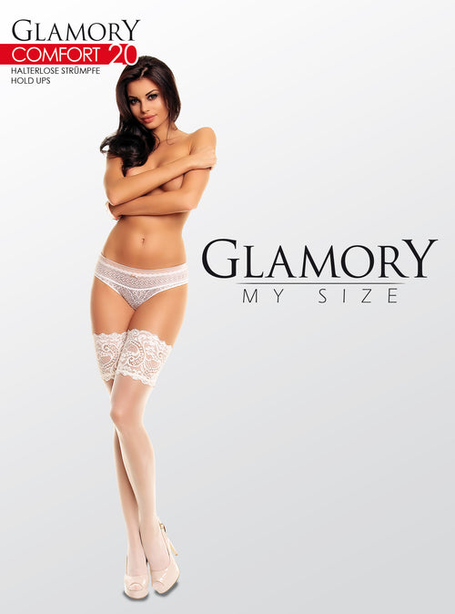 "Glamory Silicone Thigh Highs - ""Comfort 20"""