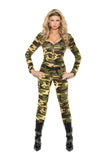 Womens Camouflage Army Costume Elegant Moments 9102