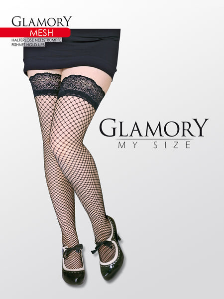 Fishnet Thigh Highs by Glamory 50352