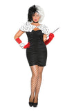 Sexy Cruella Costume Elegant Moments 9136
