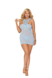 Mesh Babydoll Plus Size Elegant Moments 44005