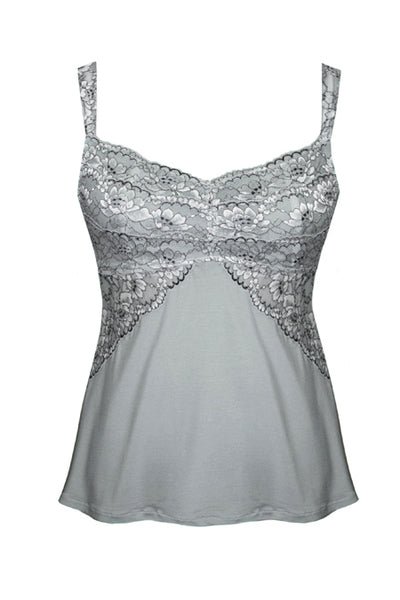 Euphoria Camisole Tia Lyn Lingerie Grey Front