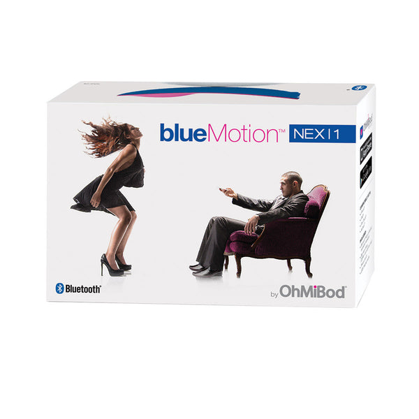 Blue Motion Remote Control Panties Packaged
