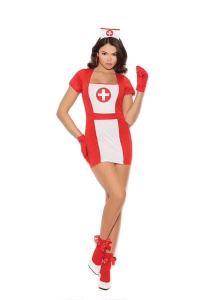 Naughty Nurse Costume Elegant Moments 99080
