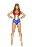 Womens Sexy Hero Costume Roma 4679 S