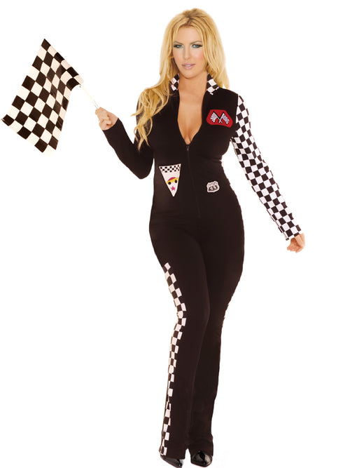 Sexy Race Car Driver Costume Elegant Moments 9446