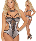 Satin Demi Cup Teddy Elegant Moments 7262