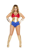 Womens Sexy Hero Costume Roma 4679
