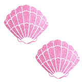 pink shell pasties waterproof nipztix