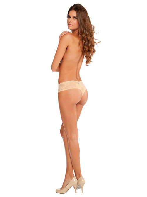 Cosabella Trenta Thong Nude TRENT0321BW Back