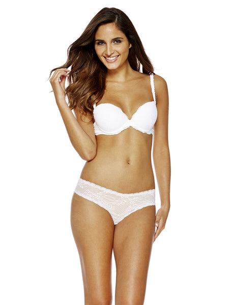 Cosabella Trenta Push-Up Bra White