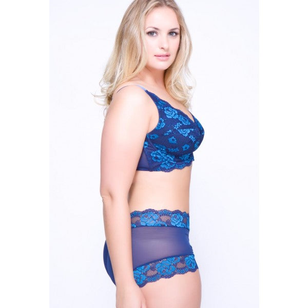 Rose Bra by QT Intimates 5555-navy-side