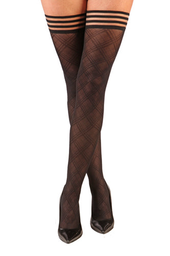 Glamory Fishnet Thigh Highs