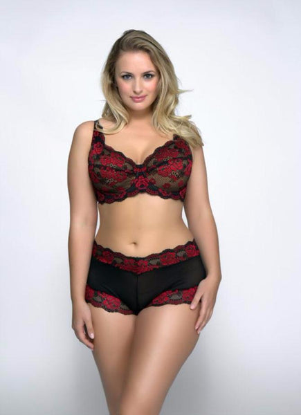 Rose Bra by QT Intimates-5555-Red_Blk_1