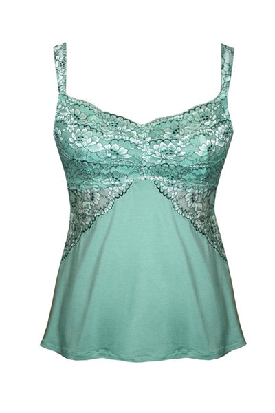 Euphoria Camisole Tia Lyn Lingerie Mint Front