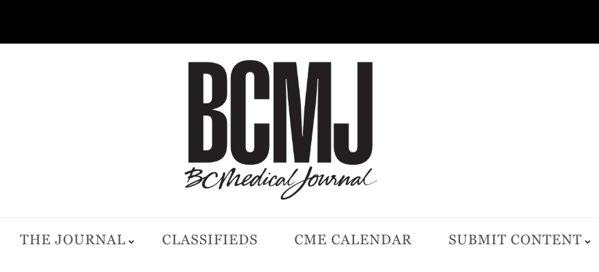 BC MEDICAL JOURNAL: Pacey Cuff™