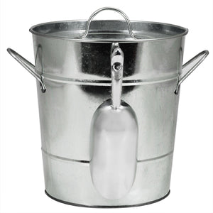 Galvanized Metal Ice Bucket by Twine®