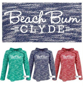 Beach Bum Clyde - Ladies Cali Pullover Hoodi