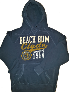 Beach Bum Clyde - Sunsets and No Regrets Hoodie - END OF SEASON SALE PRICED