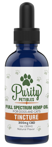 Purity Petibles Full Spectrum CBD Tincture - 300mg