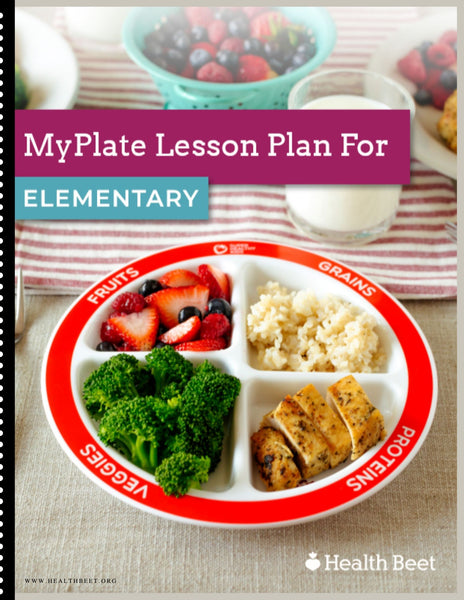 Choose MyPlate Lesson Plan for Elementary School {Digital Download}