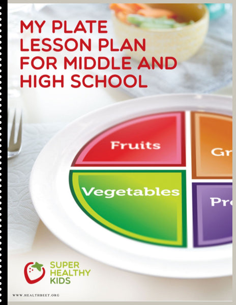 Choose MyPlate Lesson Plan for Middle and High School {Digital Download}
