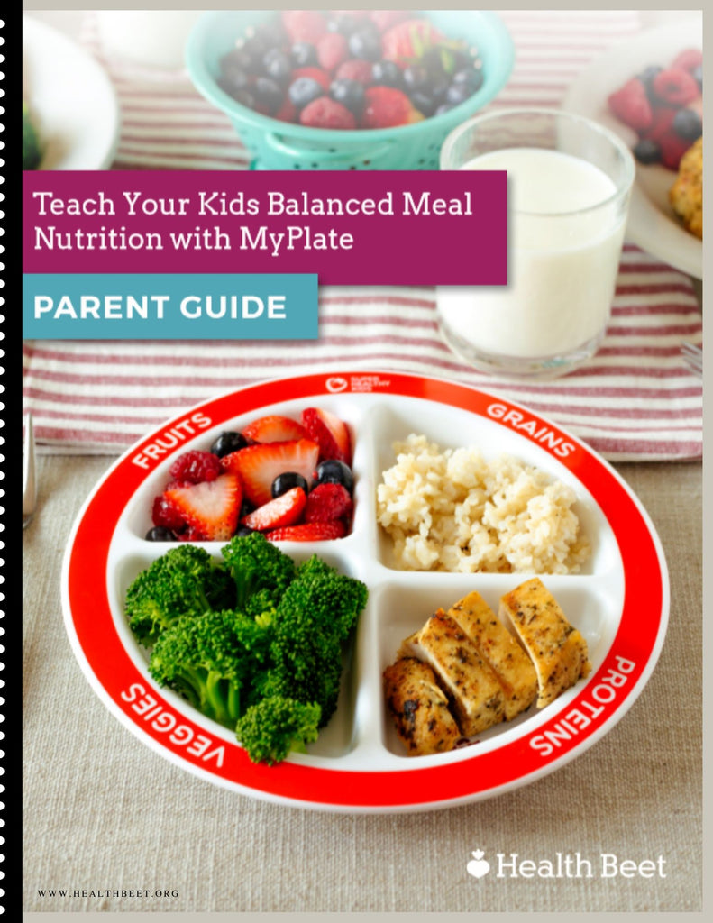 Choose MyPlate Nutrition Parents' Guide {Digital download}