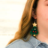 O Christmas Tree Earrings