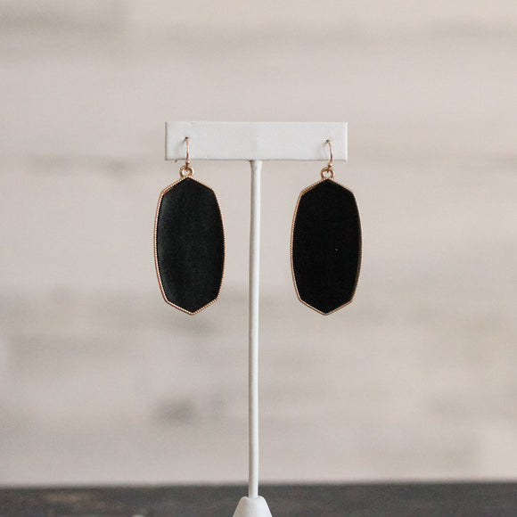Lindsey Leather Earrings