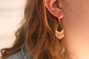 Out in the Woods Earrings