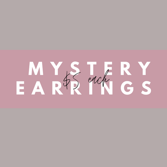 $5 Mystery Earrings