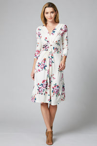 Keep it Floral Knotted Dress