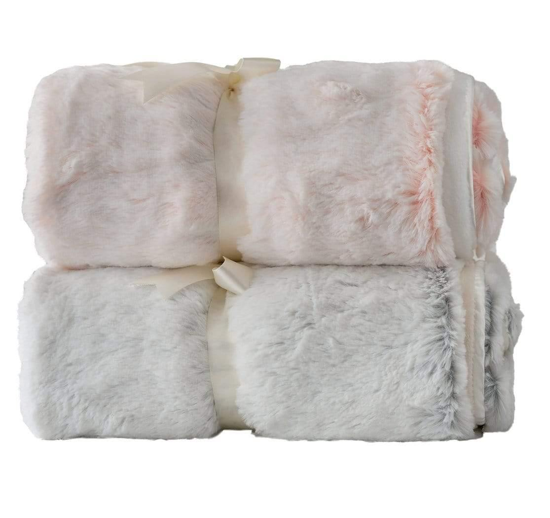 Plush Faux Fur Baby Blanket  - Frosty Fur-Available in 3 colors - Shop baby blankets, baby shower gifts, newborn baby clothes & more..