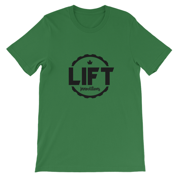 Mens T-Shirt (LEAF GREEN) FREE SHIPPING to Canada