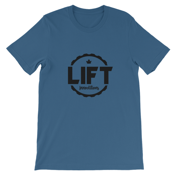 Mens T-Shirt (STEEL BLUE) FREE SHIPPING to Canada