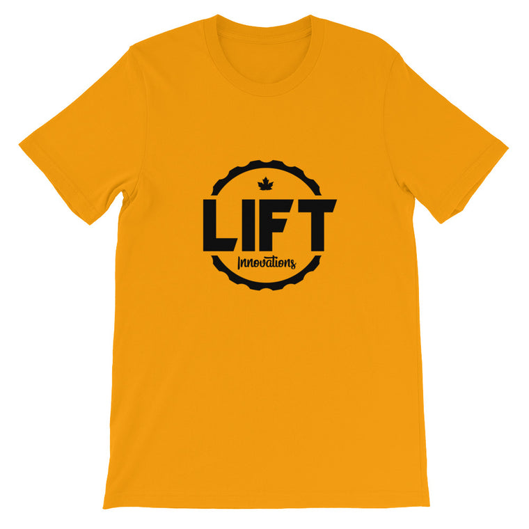 Mens T-Shirt (GOLD) FREE SHIPPING to Canada