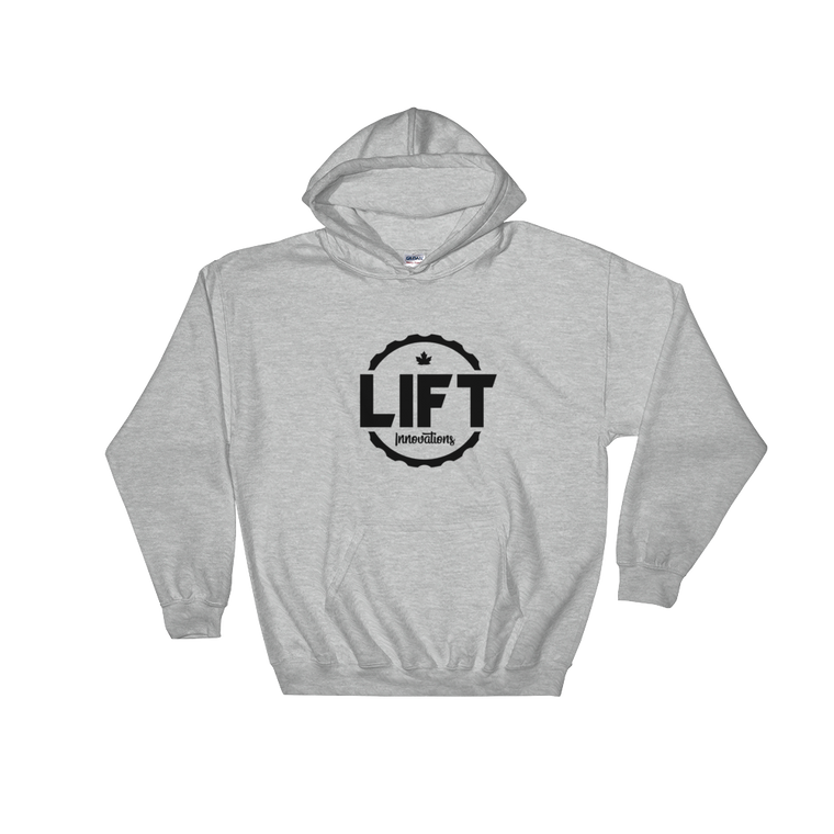 Hooded Sweatshirt (GREY) FREE SHIPPING to Canada
