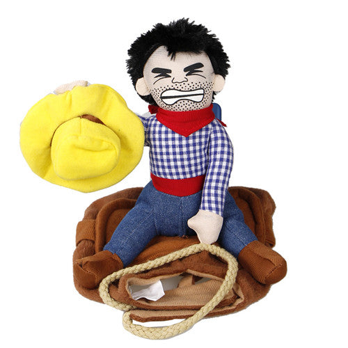 RIDE EM' COWBOY DOG COSTUME *FREE WORLDWIDE SHIPPING*