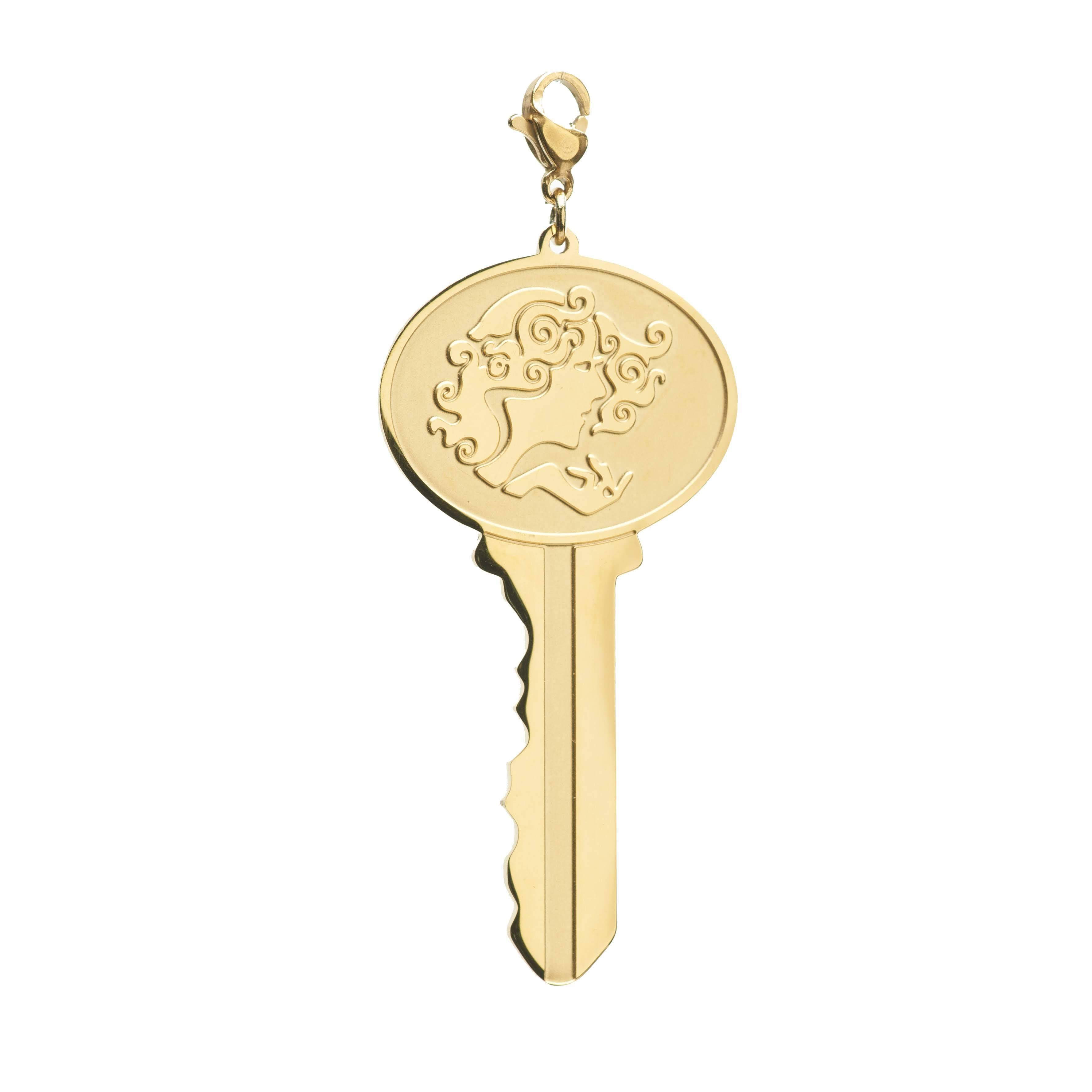 Zodiac Key Tag