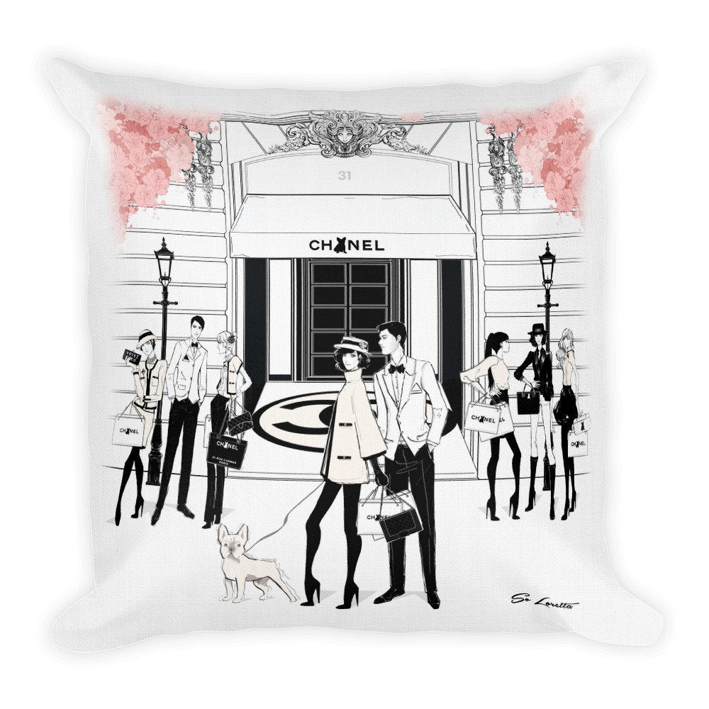 Bonjour Pillow - French Bulldog