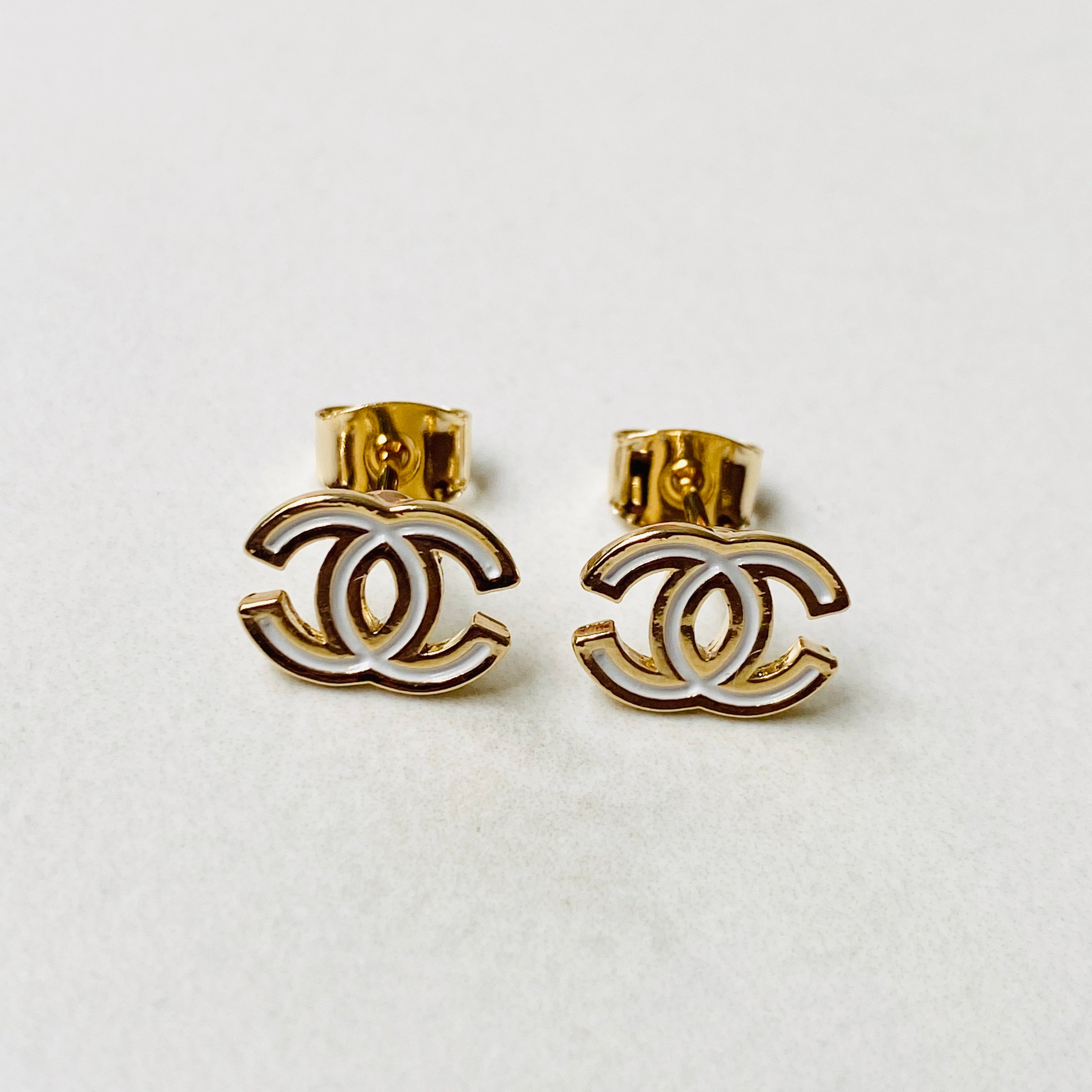 CC Stud Earrings