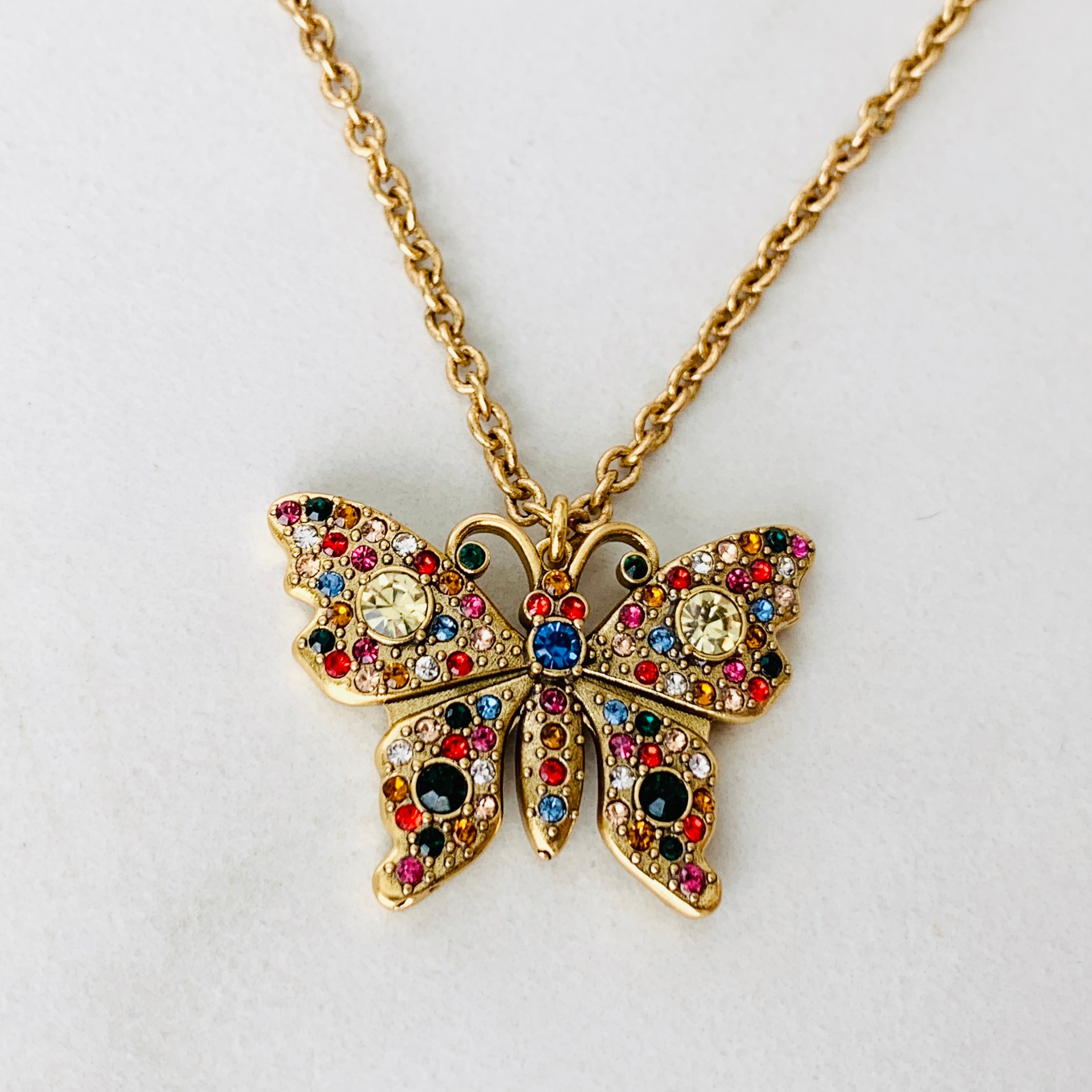 GG Butterfly Necklace